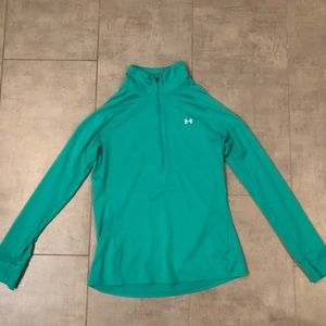 Under Armour fitted half zip